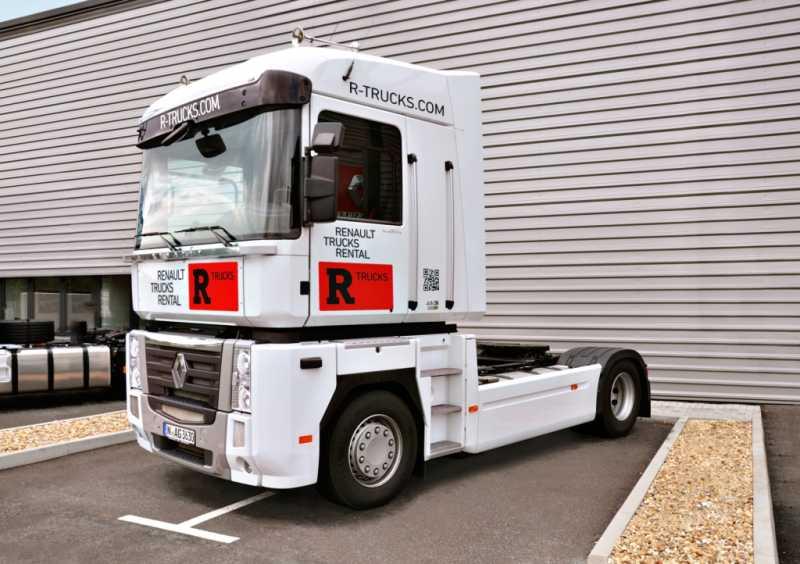 Miete bei Renault Trucks heißt jetzt R-Trucks